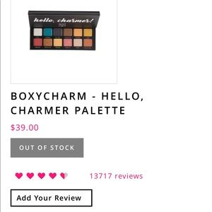 Other - Boxycharm Charmers palette